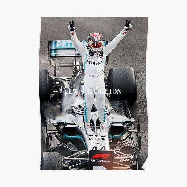 LEWIS HAMILTON F1 2020 Poster
