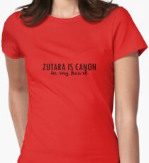 Zutara is canon. Women's Fitted T-Shirt