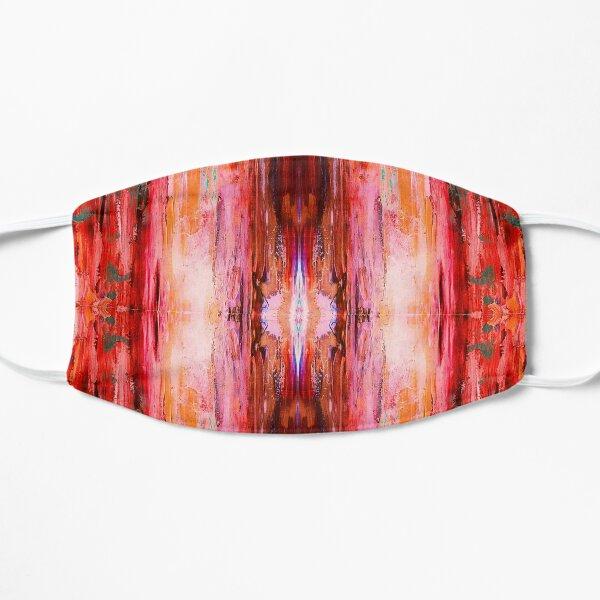 Abstract Blush Pattern Flat Mask