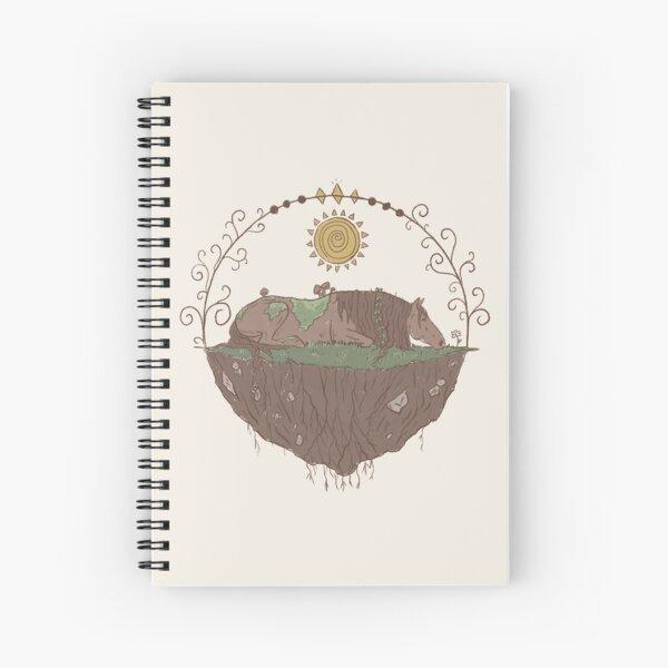 Earth Element Horse Spiral Notebook