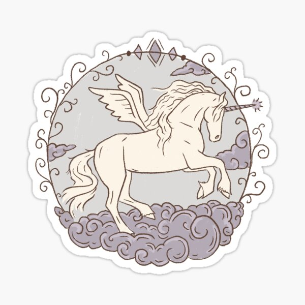 Air Element Horse Sticker