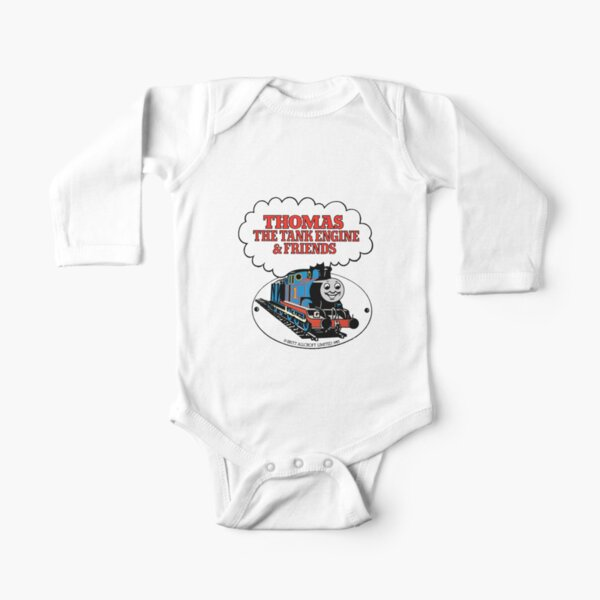 Thomas The Tank Engine & Friends Long Sleeve Baby One-Piece