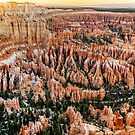 Bryce Point Sunset by Harry H Hicklin