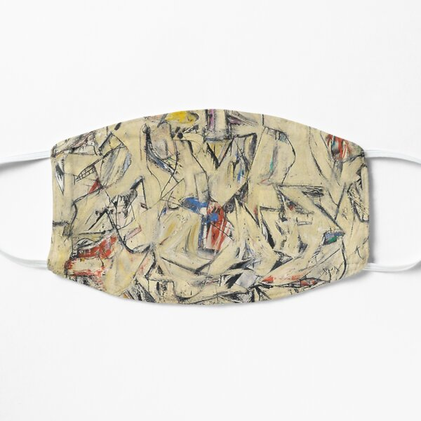 Excavation - Willem de Kooning Flat Mask