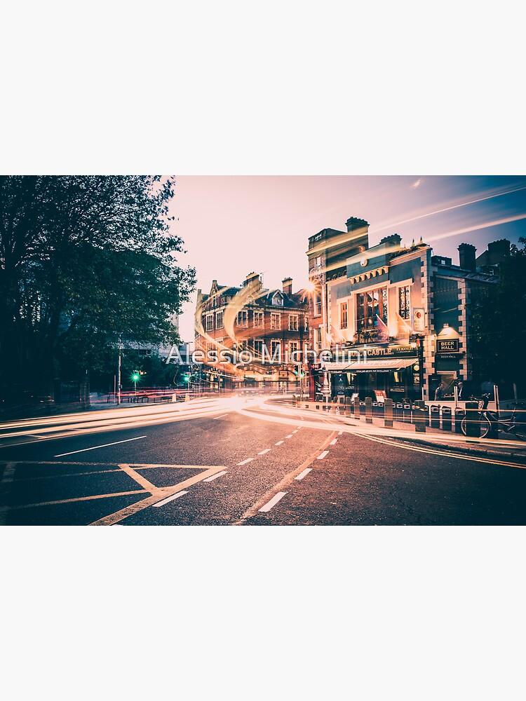 Dame Street, Dublin by darkmavis