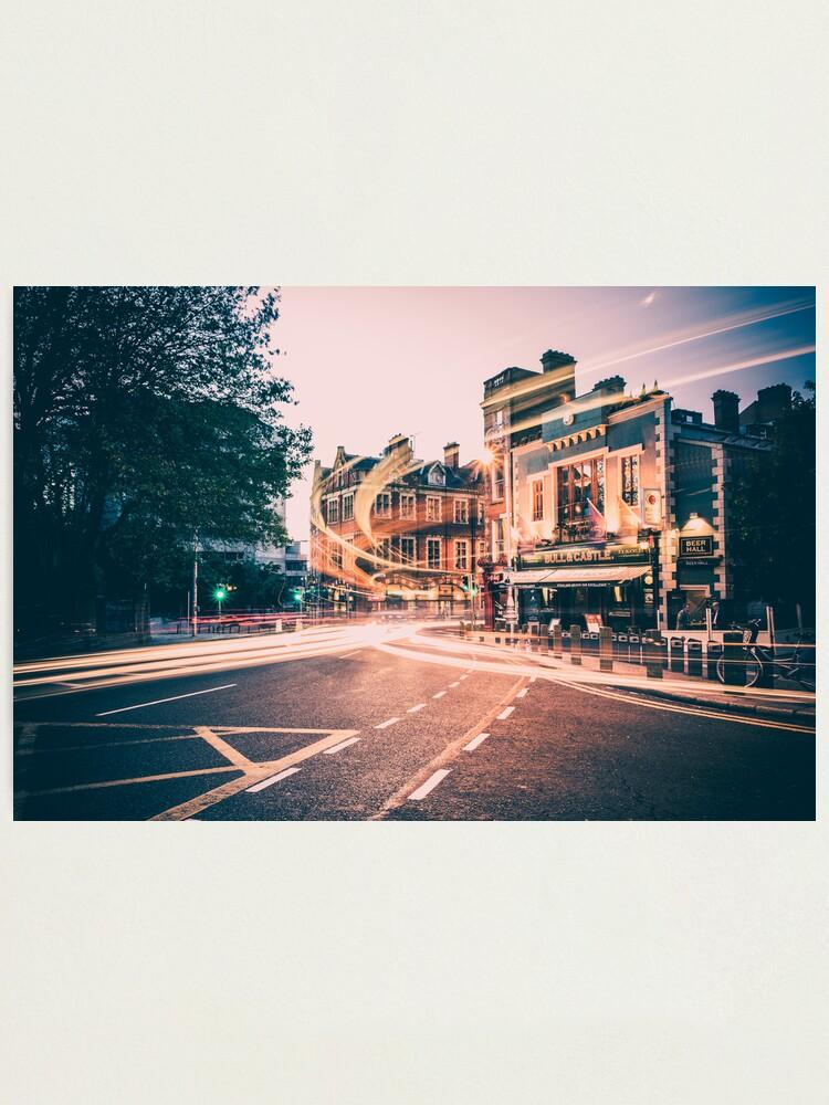 Alternate view of Dame Street, Dublin Photographic Print