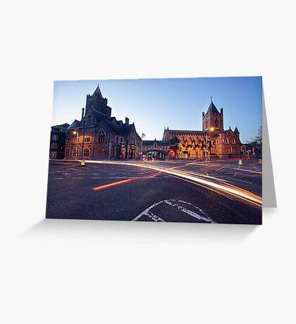 Christ Church, Dublin Greeting Card