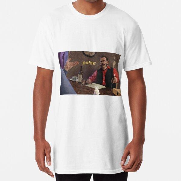 Al Swearengen Doomtown Items Long T-Shirt