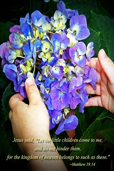 Matthew 19:14 by Terri Chandler