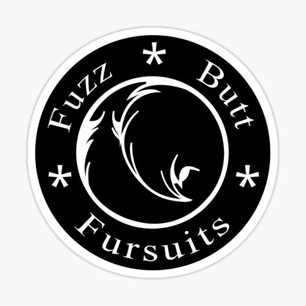 FuzzButt Fursuits Logo (Large) Sticker
