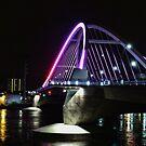 Lowry Avenue Bridge in Pink by shutterbug2010
