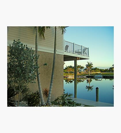 View From the Funky Fish House  Photographic Print