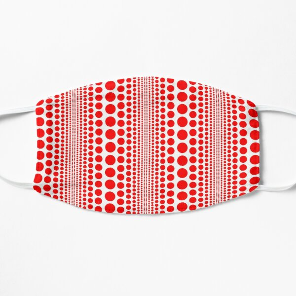 Red Infinity Polka Dots Mask