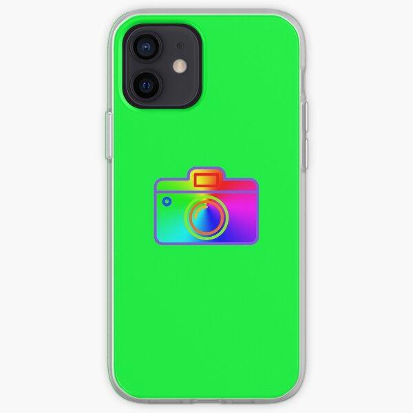 camera rainbow rgb iPhone Soft Case
