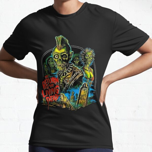 Return of the Living Dead Tarman Poster Art Active T-Shirt