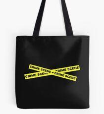Crime Scene Tape Tote Bag