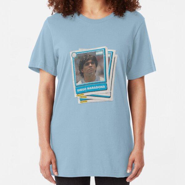 Maradona Stickers Slim Fit T-Shirt