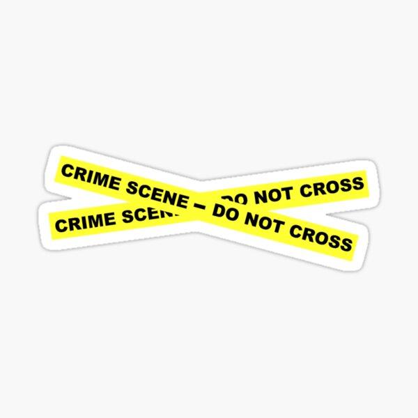 Crime Scene - Do Not Cross Sticker