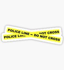 Police Line - Do Not Cross Sticker