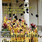 Congratulations, Graduate! by Paula Tohline  Calhoun