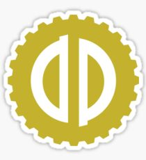Dieselpunk Gear Sticker
