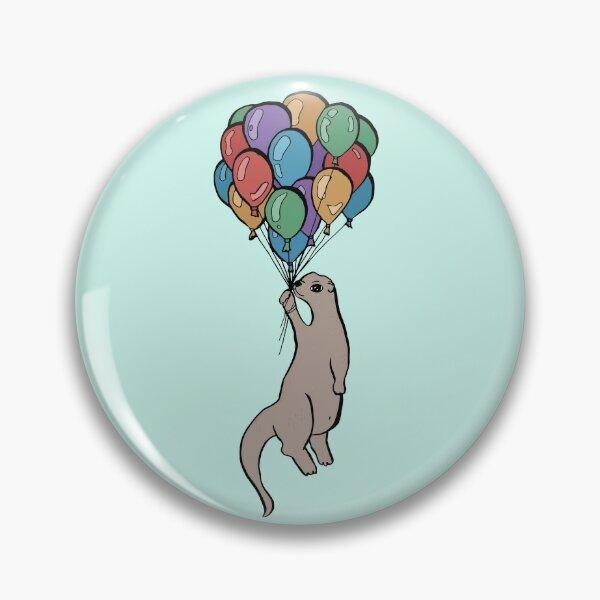 A Hot Otter Balloon Ride Pin