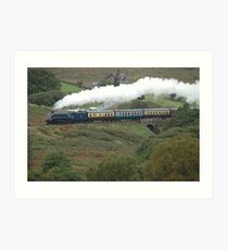 North Yorkshire Moors Railway:Whitby to Pickering Art Print