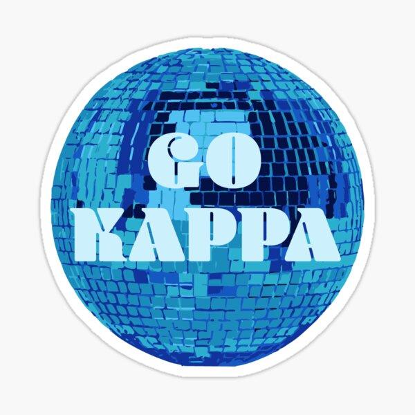 Go Kappa Disco Ball Sticker