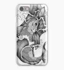 Koi in Graphite iPhone Case/Skin
