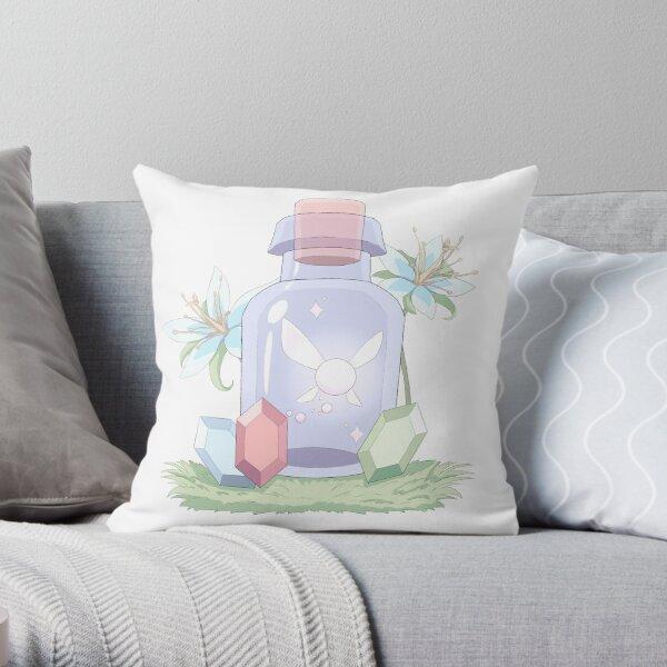 Fairy in a Bottle Throw Pillow