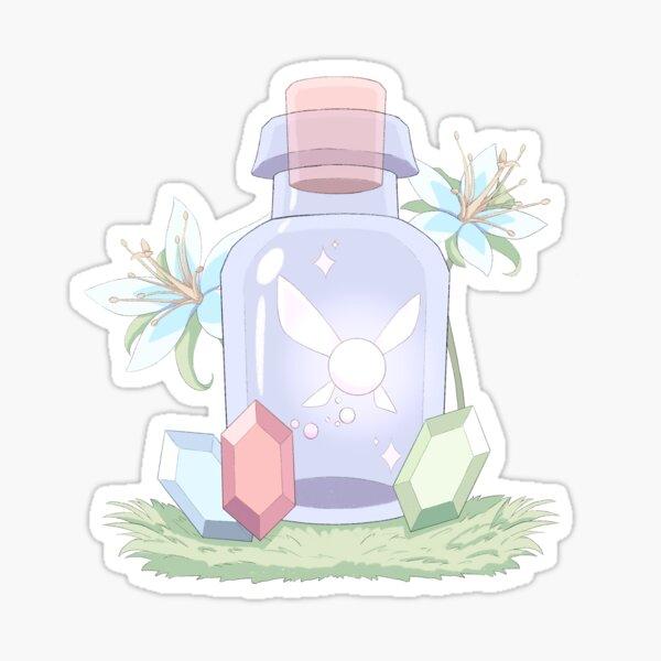 Fairy in a Bottle Sticker