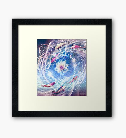 Meditate Framed Print