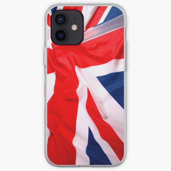 Waving UK Flag iPhone Case iPhone Soft Case