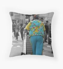Colourful character Throw Pillow