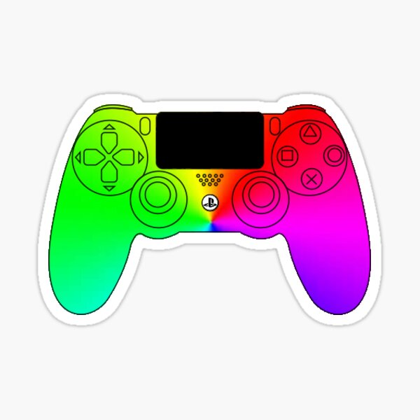 rgb ps4 controller Sticker