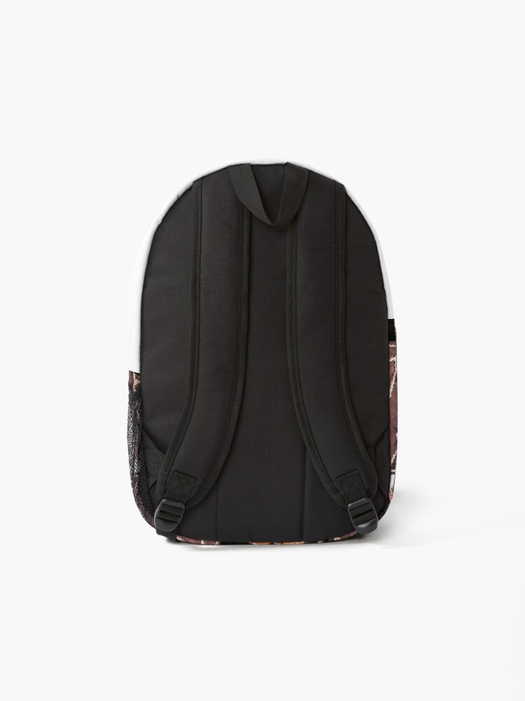 Alternate view of leather patches Backpack