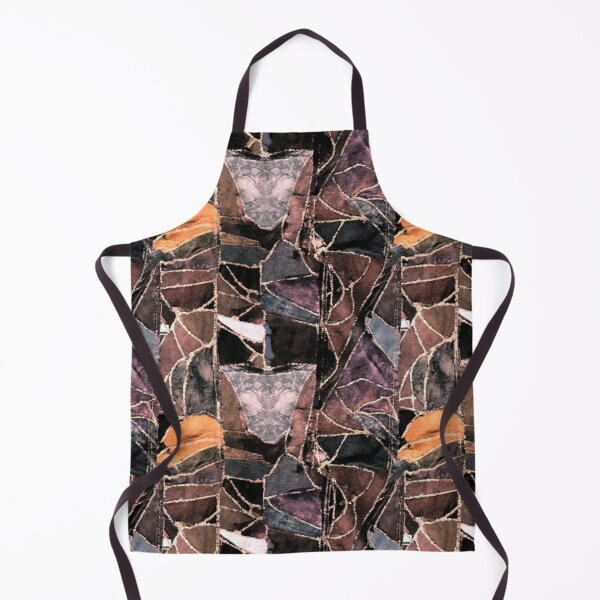 leather patches Apron