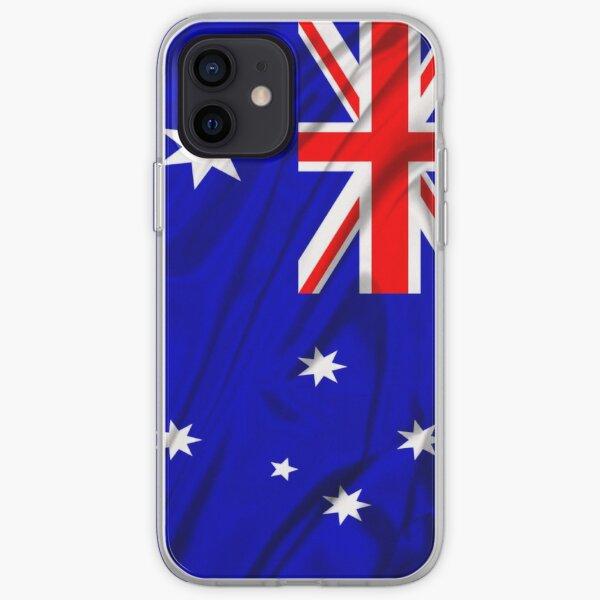 Waving Australian Flag iPhone case iPhone Soft Case