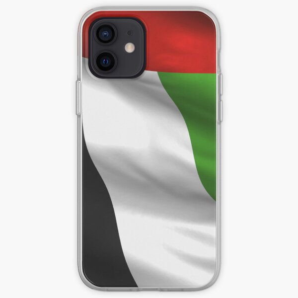 Waving UAE Flag iPhone 4 Case iPhone Soft Case