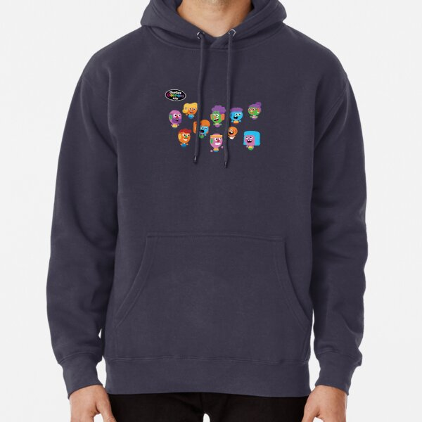 Charlie's Colorforms City - Silly Faces Pullover Hoodie