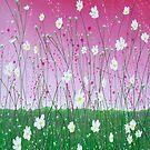 Wild Daisy Field by Herb Dickinson