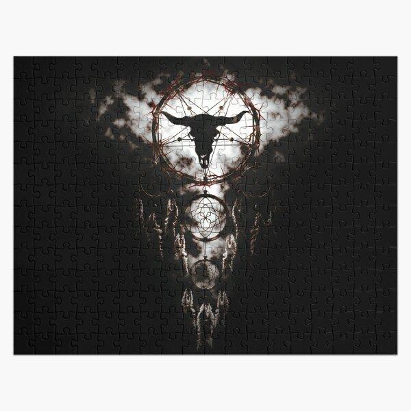 Summoning circle pentagram - Dreamcatcher Jigsaw Puzzle