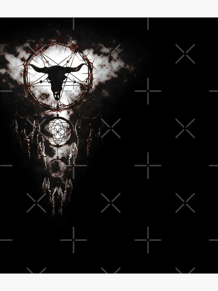 Summoning circle pentagram - Dreamcatcher by cglightNing