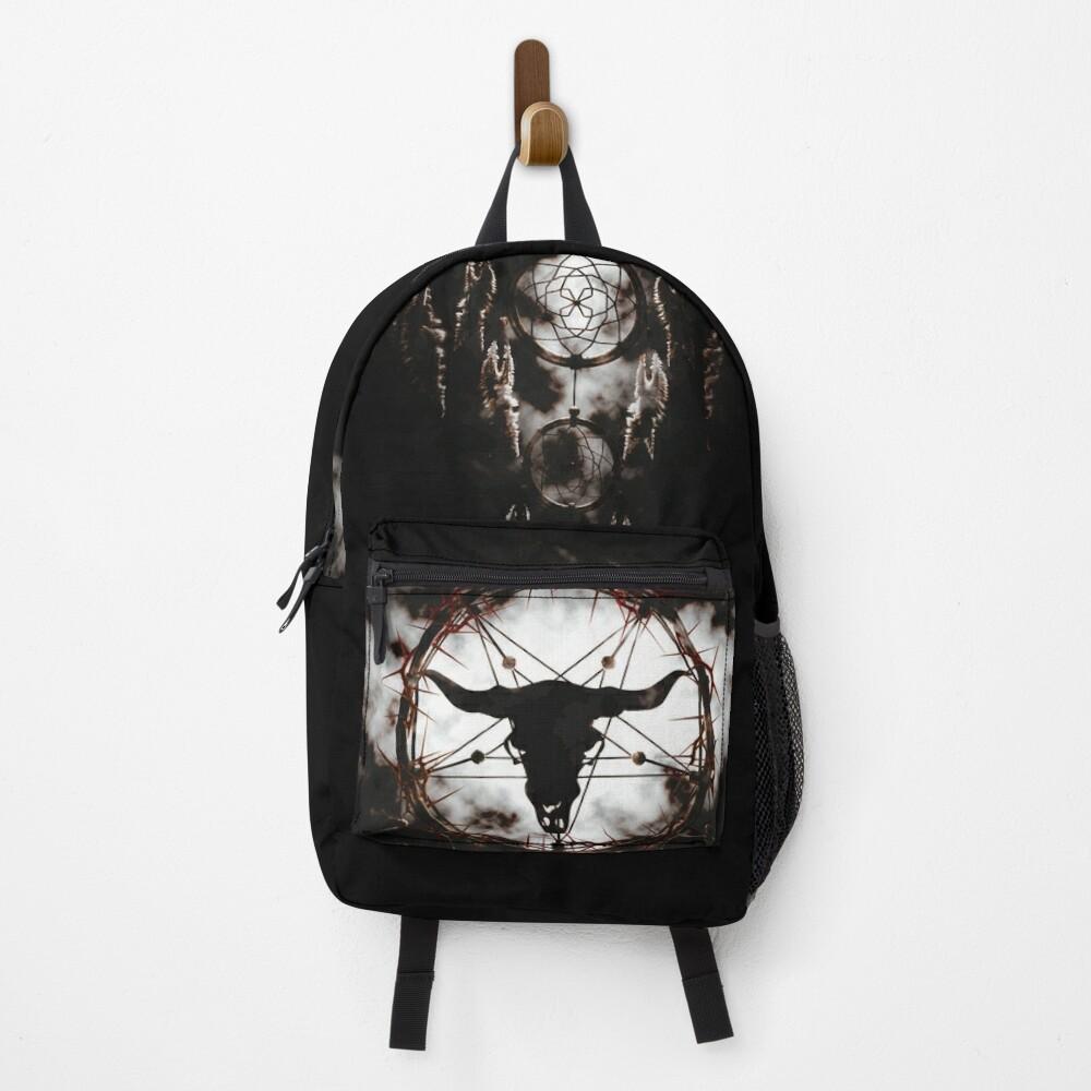 Summoning circle pentagram - Dreamcatcher Backpack
