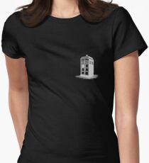 Dr Who's Tardis - Grey T-Shirt