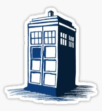 Tardis - Dr Who Sticker