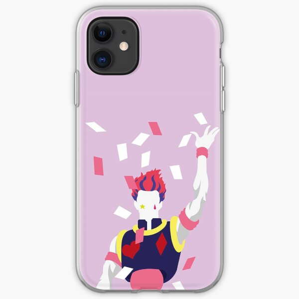 Hisoka card HxH iPhone Soft Case