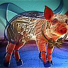 Pig on a walk by Annabellerockz