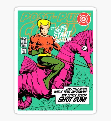 Post-Punk Heroes | Aqua Sticker