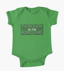 Thorough in the Boroughs One Piece - Short Sleeve
